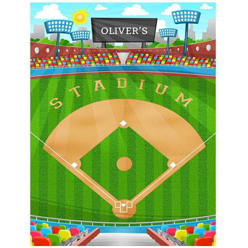 Baseball Play Blanket Small