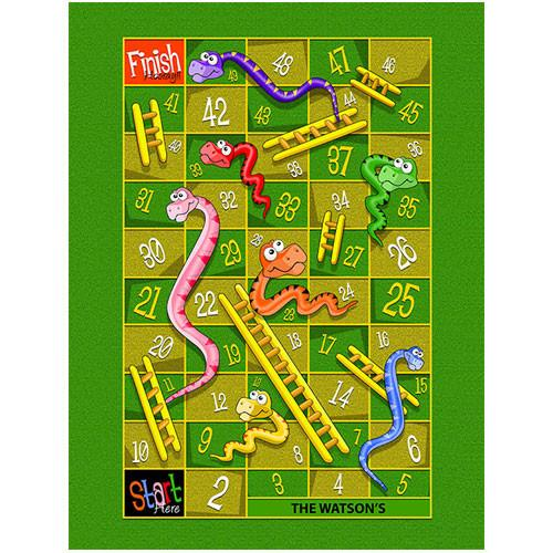 Snakes & Ladders Play Blanket Large