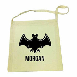 Bat  Halloween Library Bag