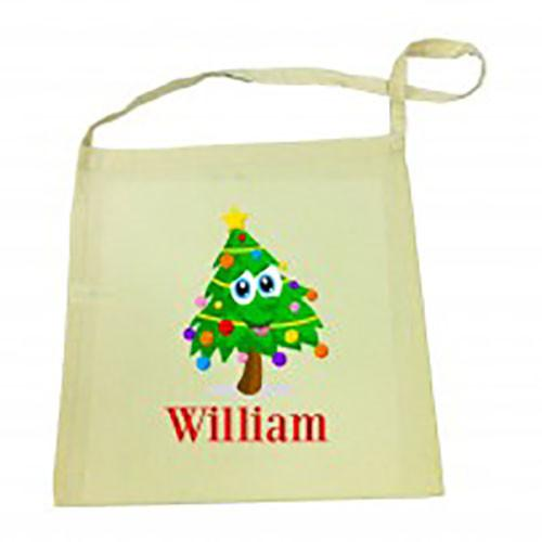 Christmas Tree Christmas Library Bag