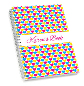 Hearts Sketch Book