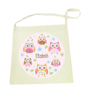 Owl Library Bag