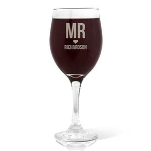 Mr Love Design Red Wine Glass (410ml)