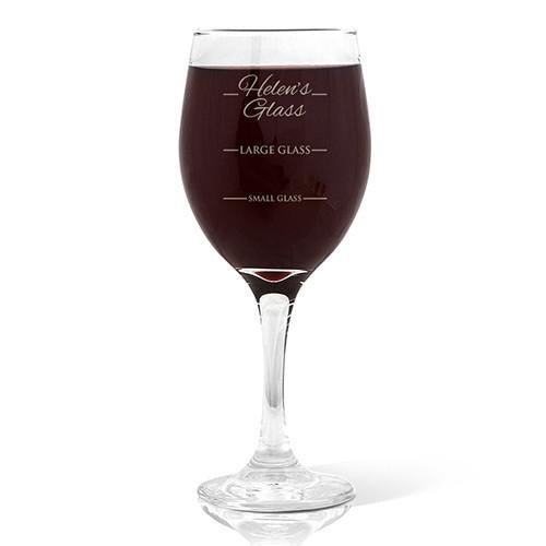 Person's Design Wine Glass (410ml)