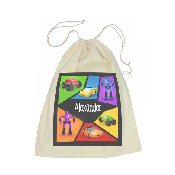Machine Drawstring Bag