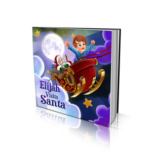 Visiting Santa Large Soft Cover Story Book