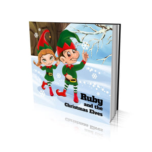 The Christmas Elves Large Soft Cover Story Book