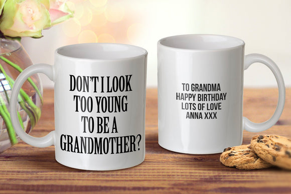 Young Grandmother Mug