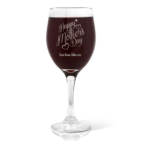 Happy Mother's Day Wine Glass (410ml)