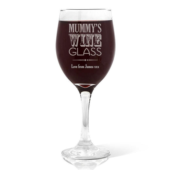 Mummy's Wine Glass Wine Glass (410ml)