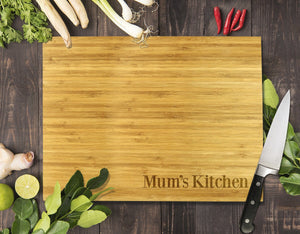 "Simple Mum's Kitchen Bamboo Cutting Board 12x16"" (Temporary Out of Stock)"