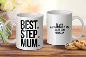 Best Step Mum Mug