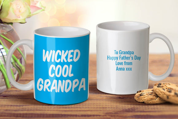 Wicked Cool Grandpa Mug