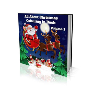 All About Christmas Volume 1 Soft Cover Colouring Book