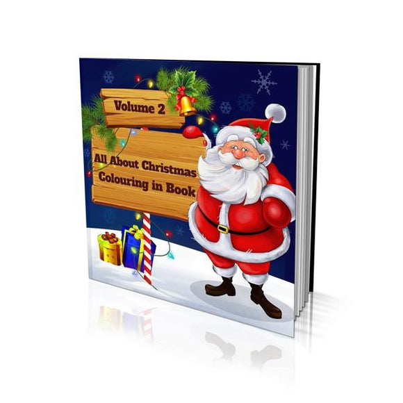 All About Christmas Volume 2 Soft Cover Colouring Book