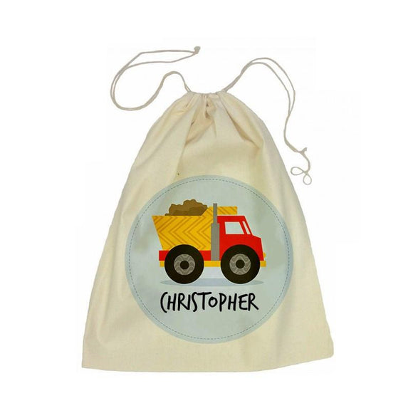 Truck Drawstring Library Bag