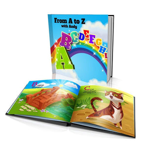From A to Z Large Hard Cover Story Book