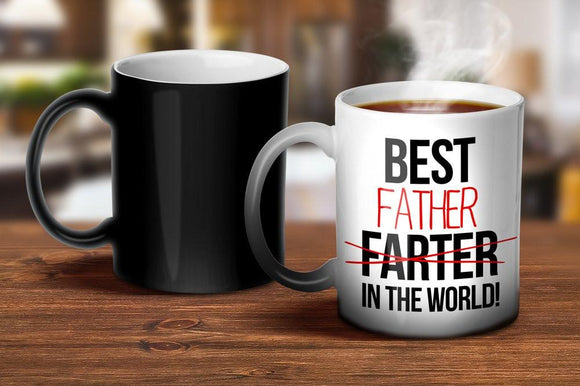 Best Father Magic Mug
