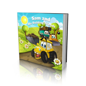 Construction Friends Large Soft Cover Story Book