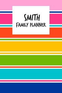 Colourful Family Planner