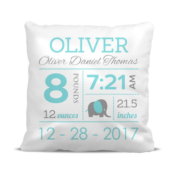 Boy Birth Classic Cushion Cover