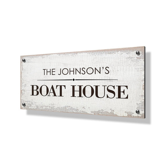Boat House Business Sign - 24x12