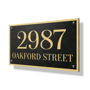 Oakford Street Business Sign - 30x20""