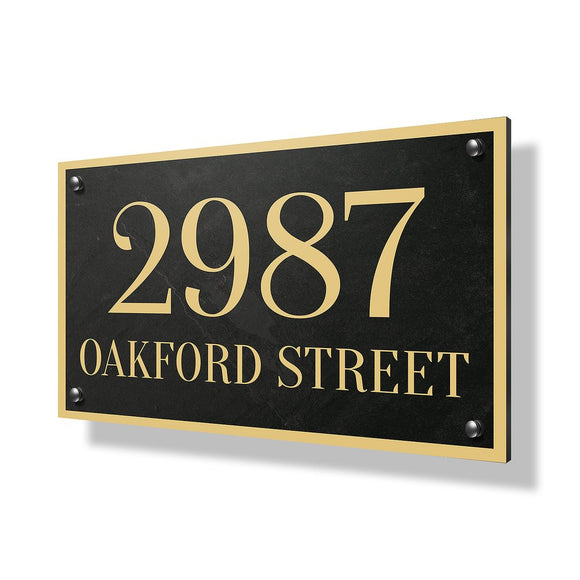 Oakford Street Business Sign - 30x20