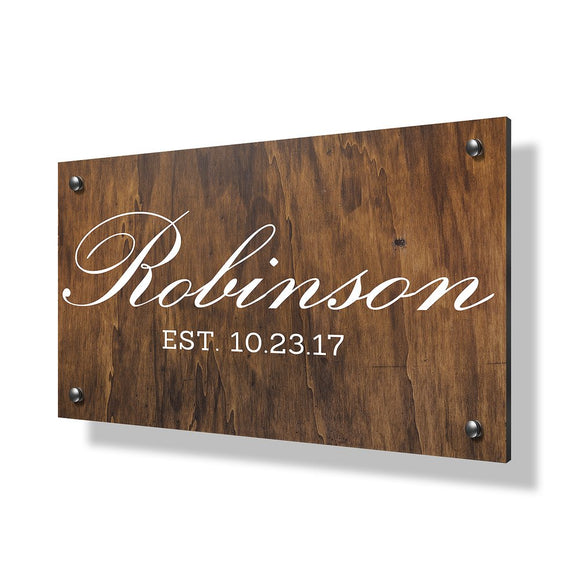 Robinson Business Sign - 30x20