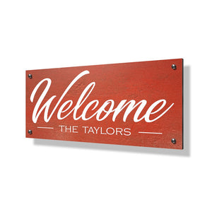 Welcome Business Sign - 24x12""