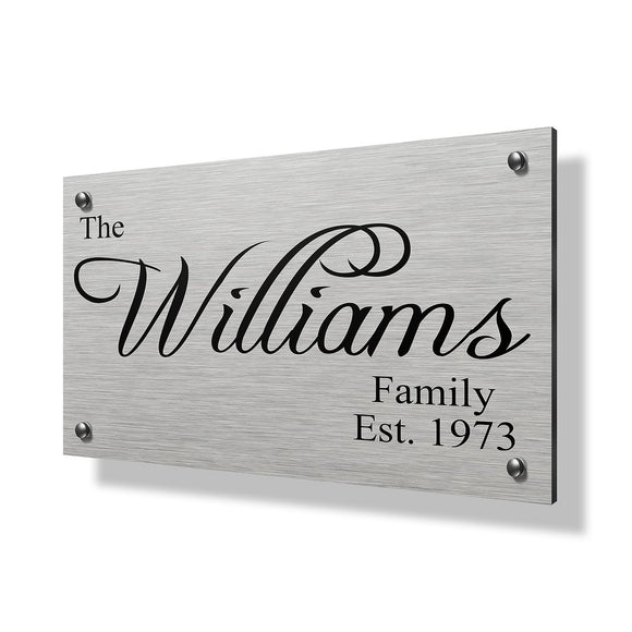 Williams Business Sign - 30x20