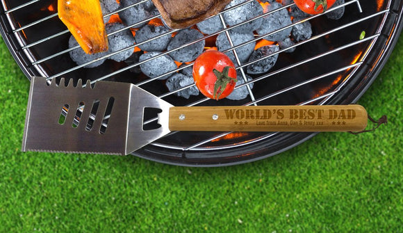 World's Best Dad BBQ Tool