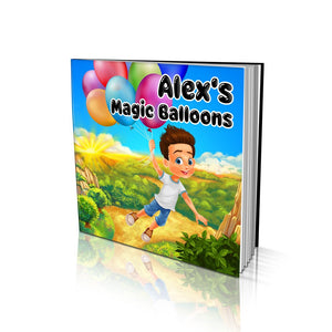 The Magic Balloons Large Soft Cover Story Book