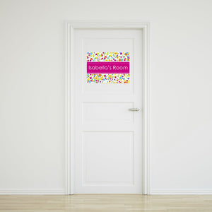 Bubbles Door Sign Small