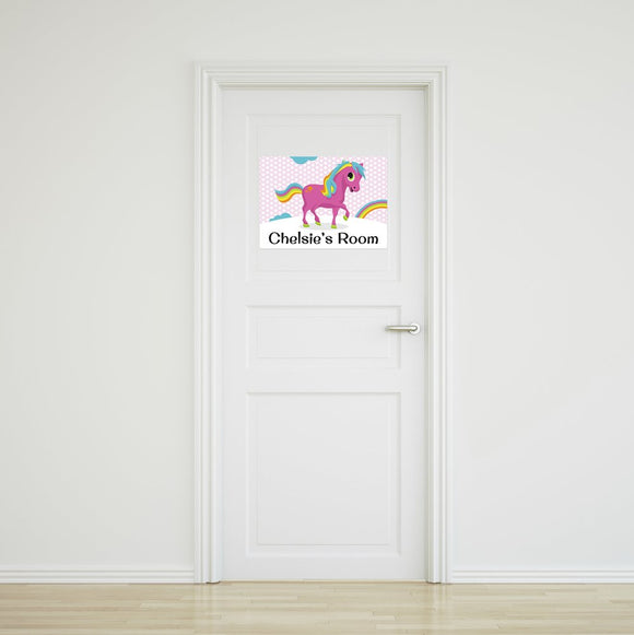 Pony Door Sign Small