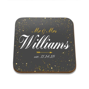 Sparkles Square Coaster - Set of 4
