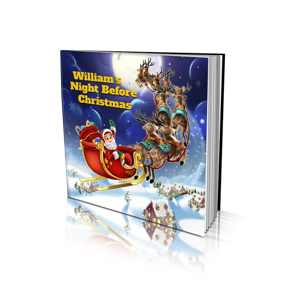 Night Before Christmas Soft Cover Story Book