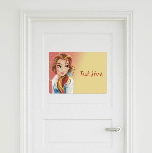 Belle Door Sign