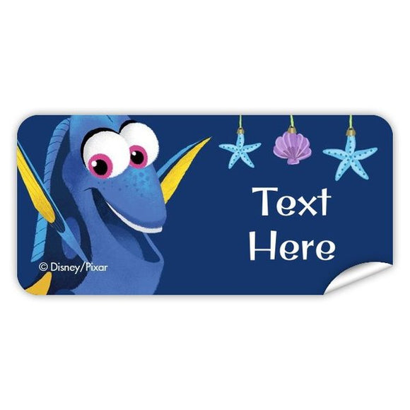 Finding Dory Christmas Rectangle Labels 42pk
