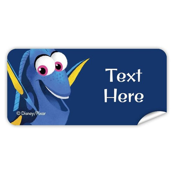 Finding Dory Rectangle Labels 42pk