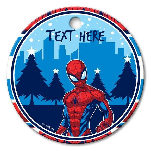 Spider-Man Round Porcelain Ornament
