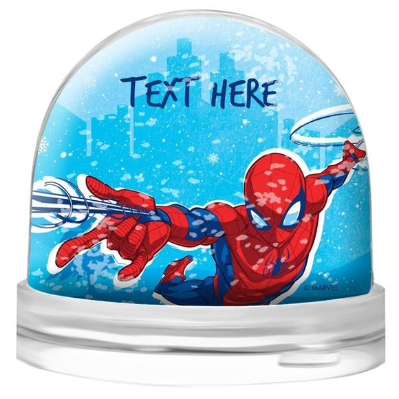 Spiderman Snow Globe