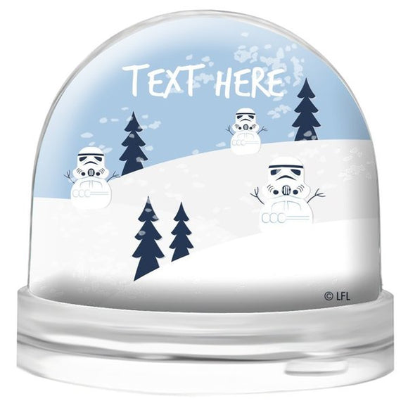 Snow Trooper Snow Globe