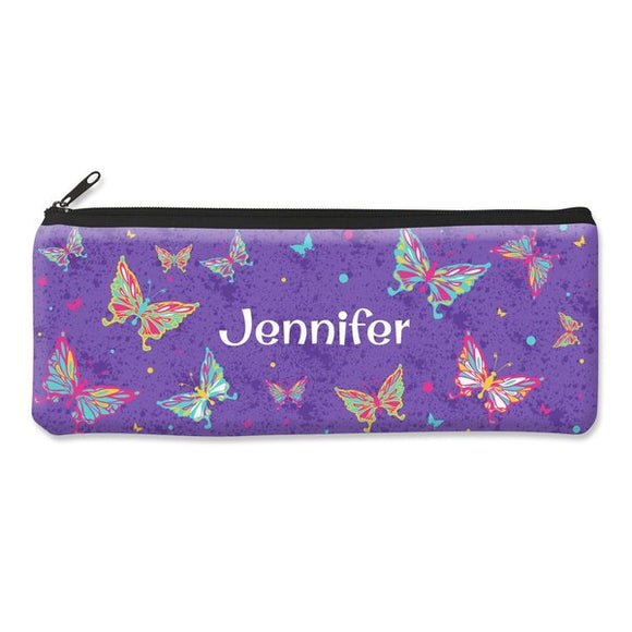 Butterflies Pencil Case - Large
