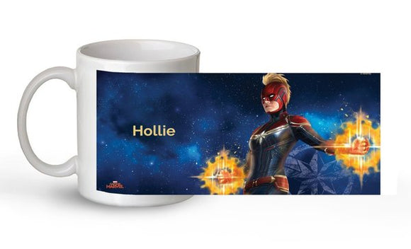 Captain Marvel - Cosmic Vibes Mug