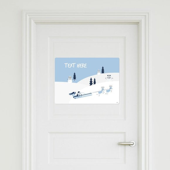 Star Wars - Snowtrooper Door Sign