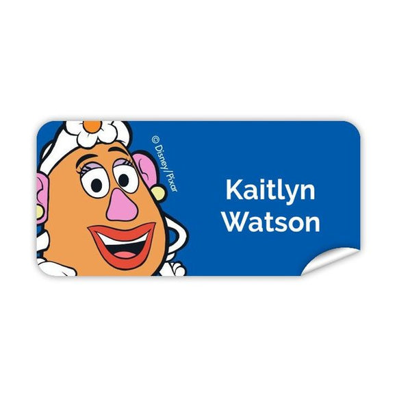 Toy Story - Toys at Play - Mrs Potato Head Rectangle Label 42pk