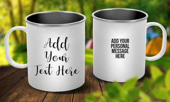 Add Your Own Message Outdoor Mug