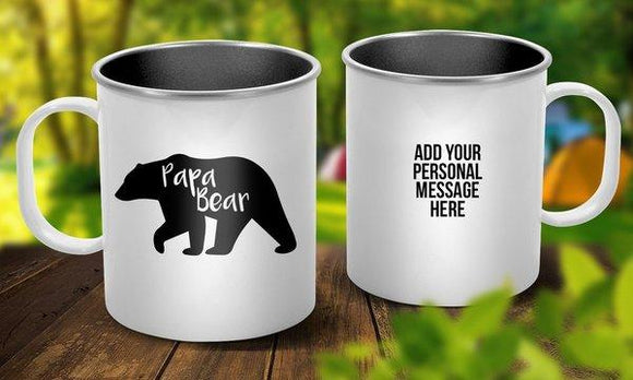 Papa Bear Outdoor Mug