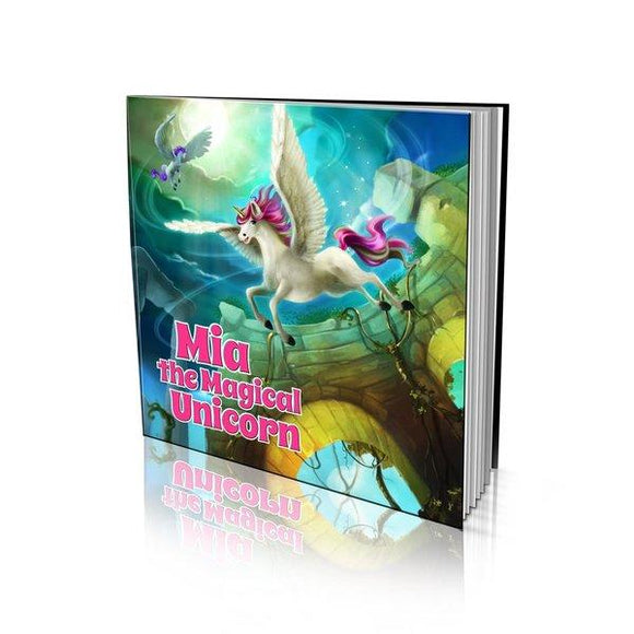 The Magical Unicorn Large Soft Cover Story Book